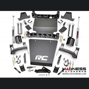 "Chevy Silverado 1500 4WD Suspension lift Kit w/ Aluminum Control Arms - 7"" Lift"